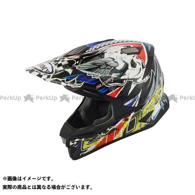 SUOMY スオーミー オフロードヘルメット ALPHA SKULL RED(アルファ・スカルレッド) 日本特別仕様 XL/61-62cm