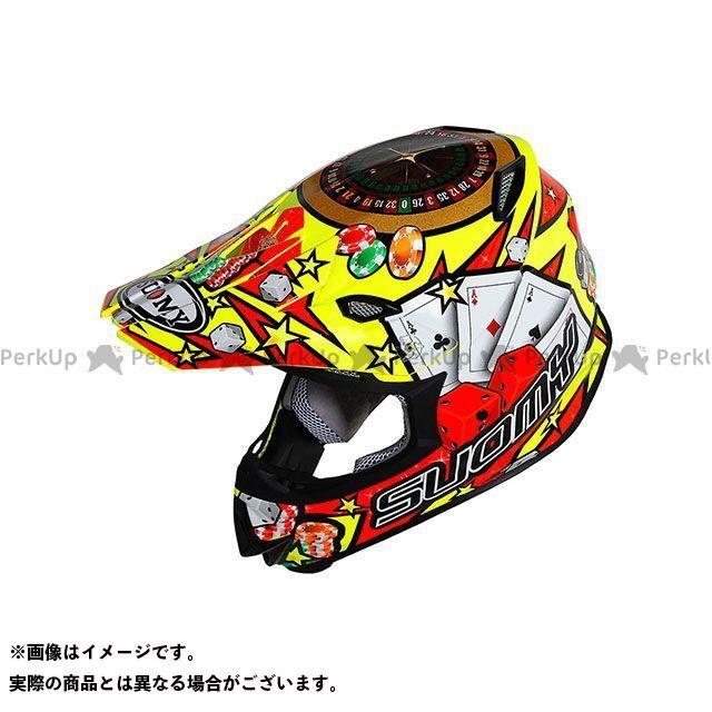 SUOMY スオーミー オフロードヘルメット MR.JUMP JACKPOT YELLOW(ミスタージャンプ・ジャックポットイエロー) 日本特別仕様 S/55-56cm