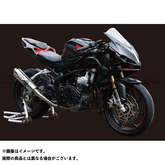 STRIKER CBR250RR マフラー本体 RACING CONCEPT フルエキゾースト(ステンレス/チタン) ストライカー