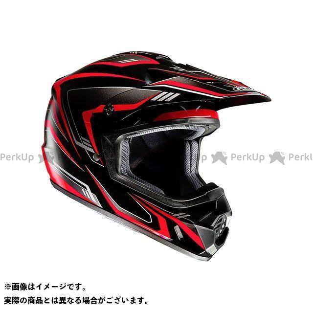 送料無料 HJC エイチジェイシー オフロードヘルメット HJH123 CS-MX2 エッジ ブラック/レッド M/57-58cm