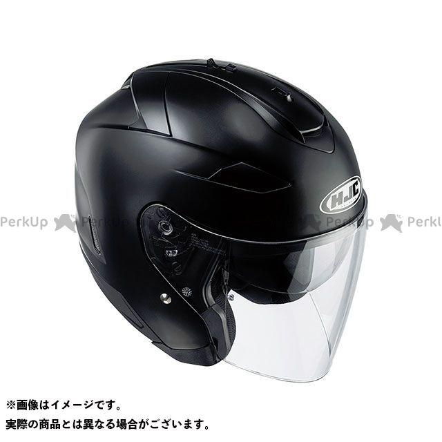エイチジェイシー ジェットヘルメット HJH120 IS-33 II ソリッド カラー:セミ フラットブラック サイズ:M/57-58cm HJC