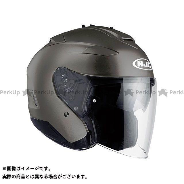 エイチジェイシー ジェットヘルメット HJH120 IS-33 II ソリッド カラー:セミ フラットチタニウム サイズ:M/57-58cm HJC