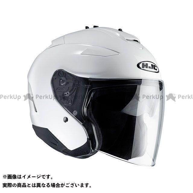 エイチジェイシー ジェットヘルメット HJH120 IS-33 II ソリッド カラー:ホワイト サイズ:S/55-56cm HJC