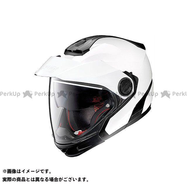 送料無料 NOLAN ノーラン システムヘルメット(フリップアップ) N405GT メタルホワイト/5 M/57-58cm