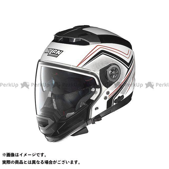 送料無料 NOLAN ノーラン システムヘルメット(フリップアップ) N44EVO COMO メタルホワイト/34 S/55-56cm