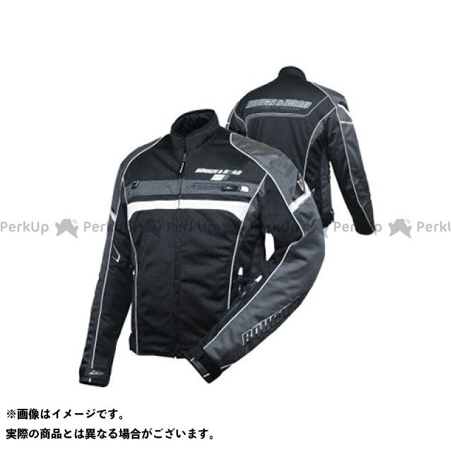 ラフアンドロード ジャケット RR7331 フルメッシュジャケットFP カラー:ブラック×ガンメタ サイズ:WL ラフ&ロード