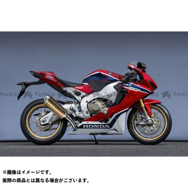 【エントリーで最大P23倍】YAMAMOTO RACING CBR1000RRファイヤーブレード マフラー本体 CBR1000RR SLIP-ON TYPE-SA ゴールド ヤマモトレーシング