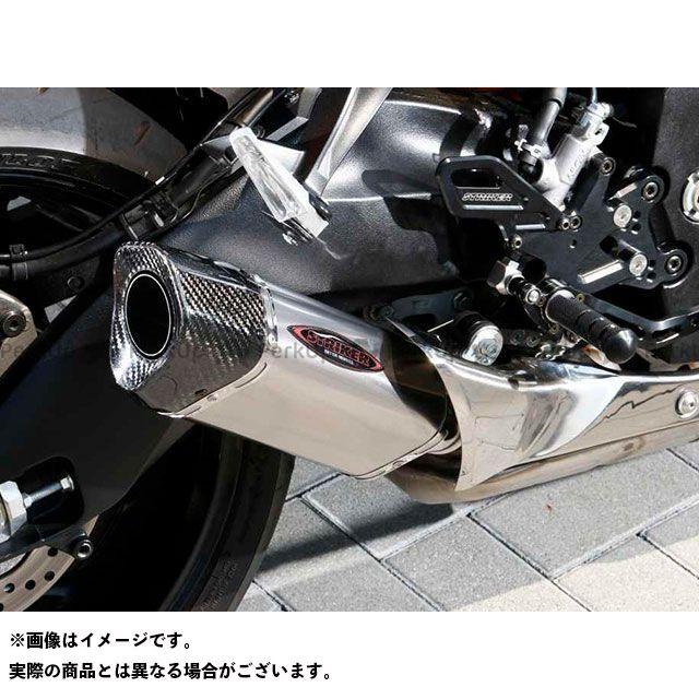 【エントリーで更にP5倍】STRIKER GSX-S1000 GSX-S1000F カタナ マフラー本体 STREET CONCEPT スリップオン INTER MODEL OFF-Type サイレンサー:チタンソリッド ストライカー
