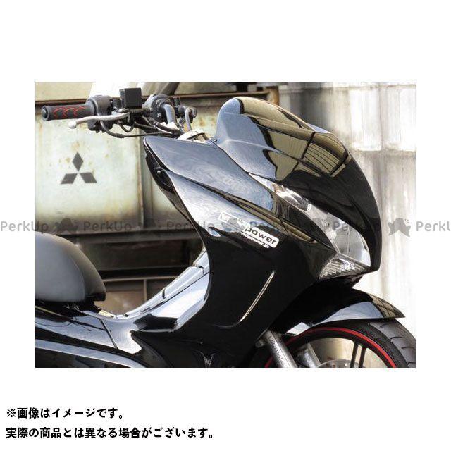 VIVID POWER PCX125 PCX150 カウル・エアロ PCX125/150 サイドカウル2 未塗装黒ゲル