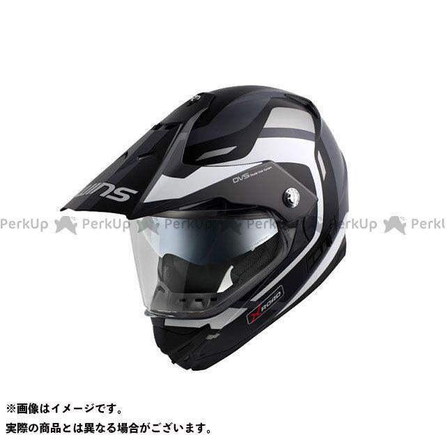 送料無料 WINS ウインズ オフロードヘルメット X-ROAD FREE RIDE マットブラック×ホワイト L