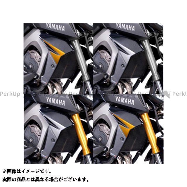 Puig MT-09 カウル・エアロ ラジエーターサイドパネル カラー:カーボン プーチ
