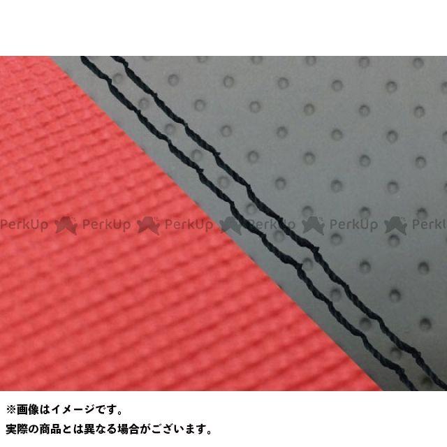 Grondement CBR1000RRファイヤーブレード シート関連パーツ CBR1000RR(SC57) 国産シートカバー 張替 エンボス灰&スベラーヌ黒 仕様:黒ダブルステッチ 適合:シングル(フロント側) グロンドマン