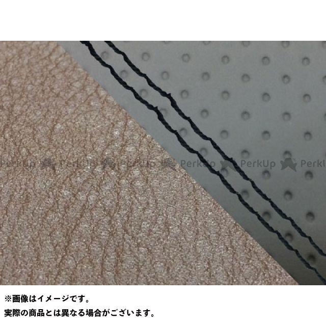 Grondement CBR1000RRファイヤーブレード シート関連パーツ CBR1000RR(SC57) 国産シートカバー 張替 エンボス灰&ダークブラウン 仕様:黒ダブルステッチ 適合:シングル(フロント側) グロンドマン