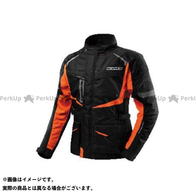 SCOYCO ジャケット JK42 ウィンタージャケット FLOW SHADOW カラー:オレンジ サイズ:L スコイコ