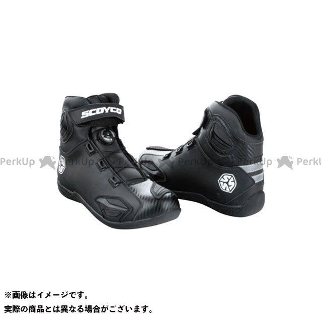SCOYCO ライディングブーツ MBT010 CHANGEOVER ライディングブーツ(ブラック) サイズ:39/25.0cm スコイコ