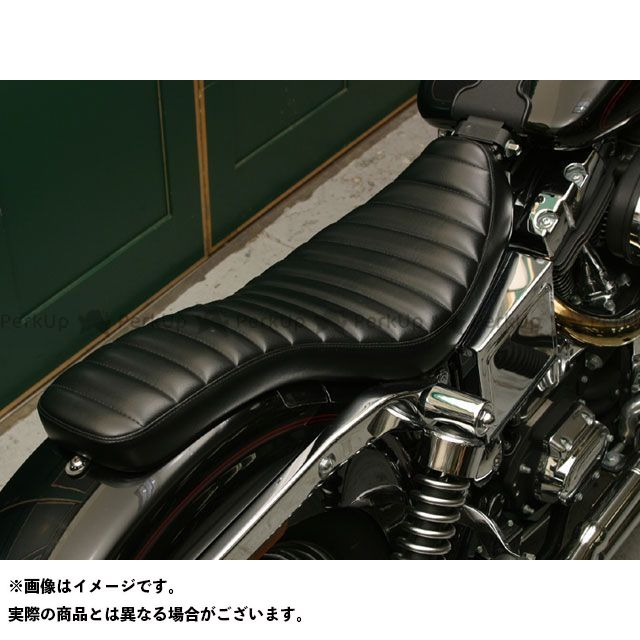 Tramp Cycle ダイナファミリー汎用 シート関連パーツ TSE-004WG COBRA stitch type ゲル入れ加工