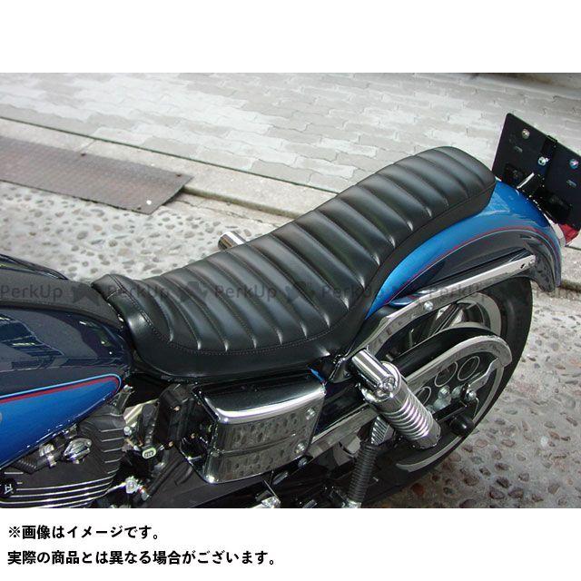 Tramp Cycle ダイナファミリー汎用 シート関連パーツ TSE-008P COBRA press type オプション:ゲル入れ加工 トランプ