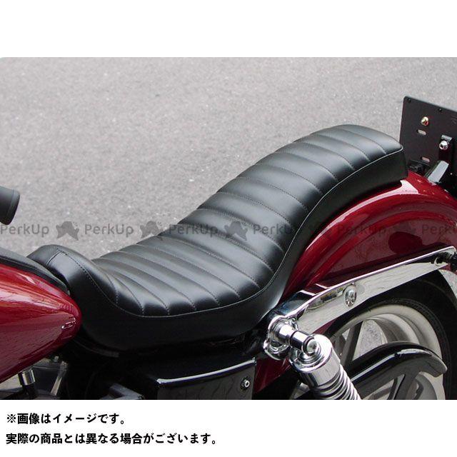 Tramp Cycle ダイナファミリー汎用 シート関連パーツ TSE-012 COBRA stitch type オプション:ゲル入れ加工 トランプ