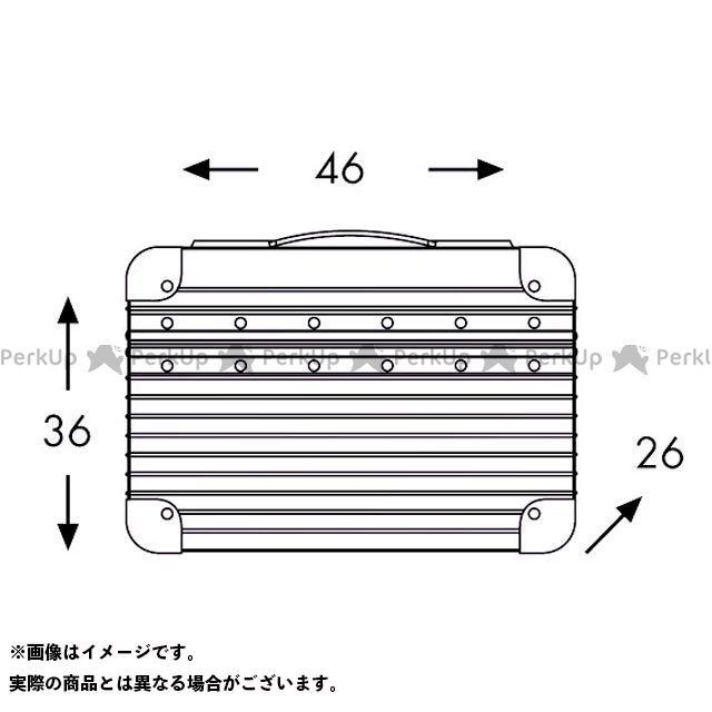 HEPCO&BECKER ツーリング用バッグ Alu Exclusiv/アルミエクスクルーシブ サイドケース 40 タイプ:左側 ヘプコアンドベッカー