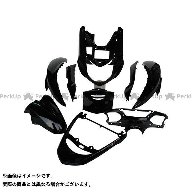 supervalue シグナスX 外装セット シグナスX SE12J 外装9点セット カラー:ブラック スーパーバリュー