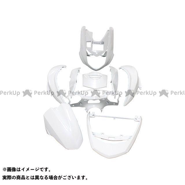supervalue シグナスX 外装セット シグナスX SE12J 外装9点セット カラー:ホワイト スーパーバリュー