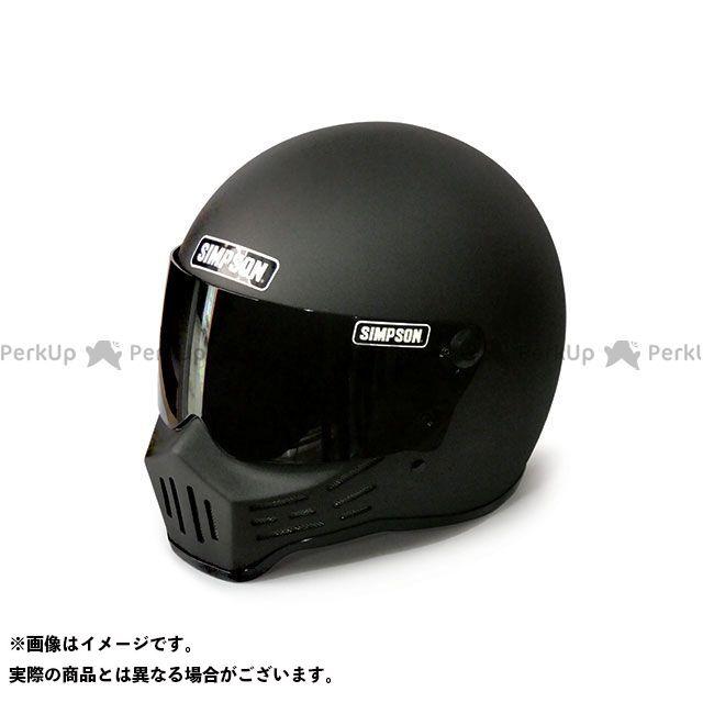 シンプソン SIMPSON フルフェイスヘルメット MODEL30 ヘルメット ストーンブラック 62cm