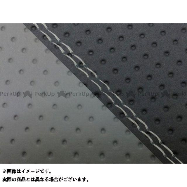 Grondement CBR1000RRファイヤーブレード シート関連パーツ CBR1000RR(SC57) 国産シートカバー 張替 エンボス黒&エンボス灰 仕様:透明ダブルステッチ 適合:シングル(フロント側) グロンドマン