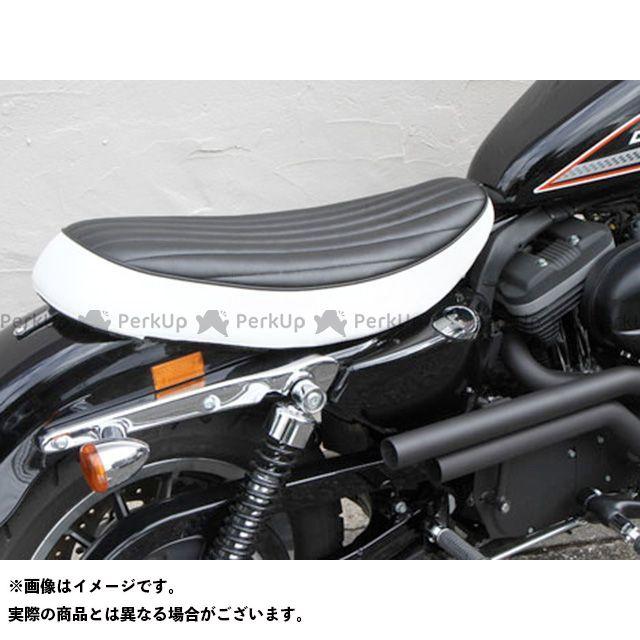EASYRIDERS シート関連パーツ バーチカルフラットダブルシート type3(黒/白) イージーライダース