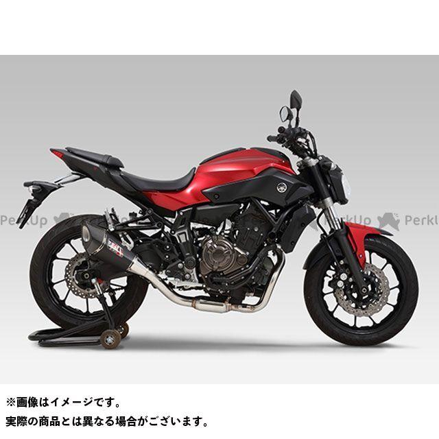 YOSHIMURA MT-07 マフラー本体 機械曲 R-11 サイクロン EXPORT SPEC 政府認証 サイレンサー:STB(チタンブルーカバー) ヨシムラ