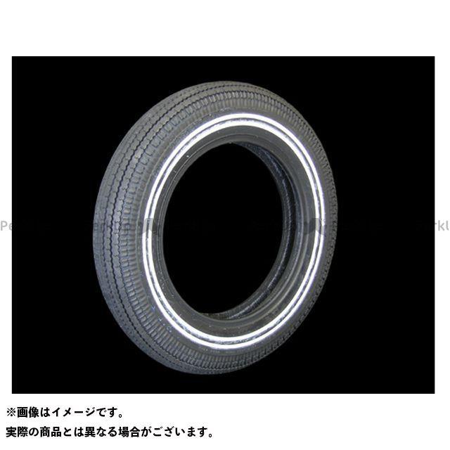 COKER TIRE ハーレー汎用 オンロードタイヤ コッカークラシック 5.00-16タイヤ 3/8inダブルホワイトリボン