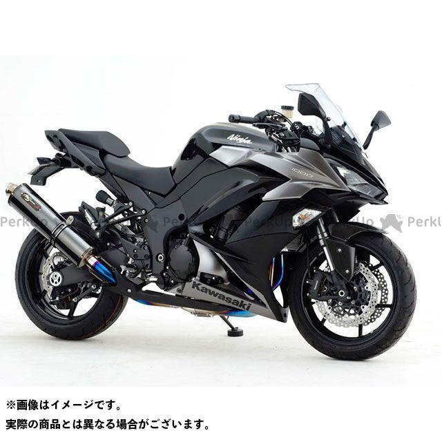 【エントリーで更にP5倍】NOJIMA ニンジャ1000・Z1000SX マフラー本体 DLC-TITAN TYPE-SC ノジマ