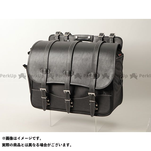 送料無料 DEGNER デグナー ツーリング用バッグ NB-125 ナイロンサドルバッグ(ブラック)