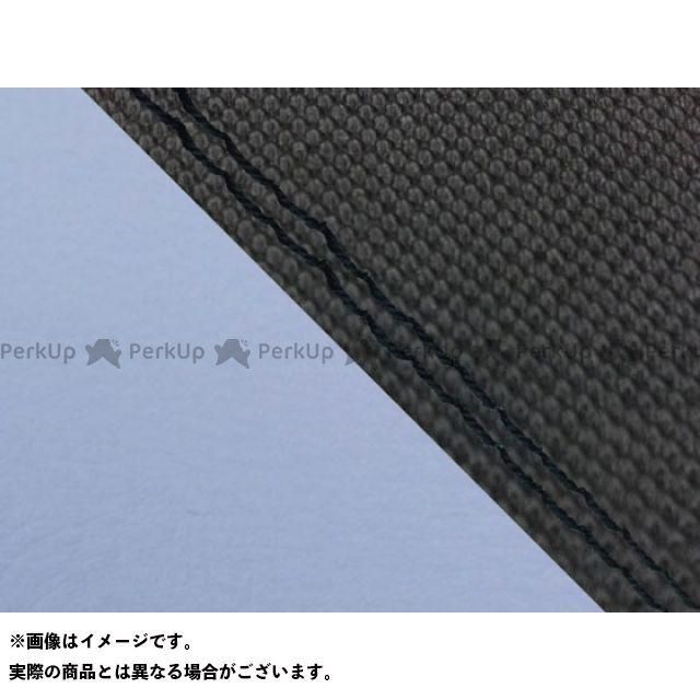Grondement CBR1000RRファイヤーブレード シート関連パーツ CBR1000RR(SC57) 国産シートカバー 張替 スベラーヌ黒&ライト青 仕様:黒ダブルステッチ 適合:シングル(フロント側) グロンドマン
