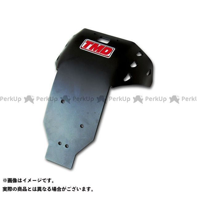 T.M.DESIGNWORKS CRF450R スライダー類 CRF450R 2013 EDフルカバースキッドプレート ブラック TMデザイン