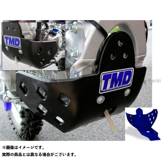 【エントリーで更にP5倍】T.M.DESIGNWORKS YZ250F YZ450F スライダー類 YZ250F/YZ450F 14-15 フルカバードスキッドプレート カラー:ブルー TMデザイン