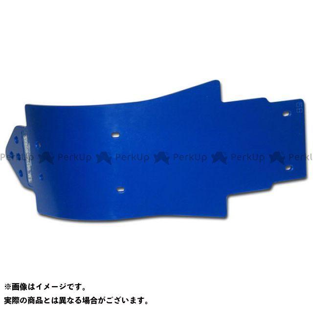 【エントリーで更にP5倍】T.M.DESIGNWORKS KX250F スライダー類 KX250F 12-13 MXスキッドプレート カラー:ブルー TMデザイン