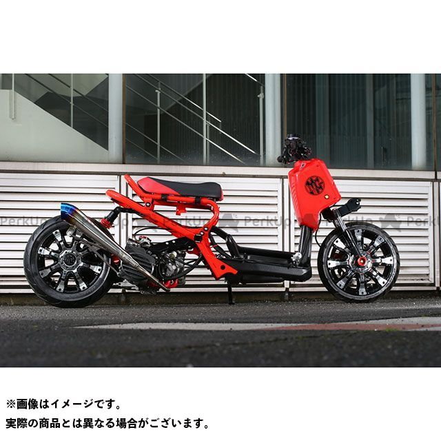 Rinパーツ ズーマー マフラー本体 Breathing GP Racing TypeR リンパーツ