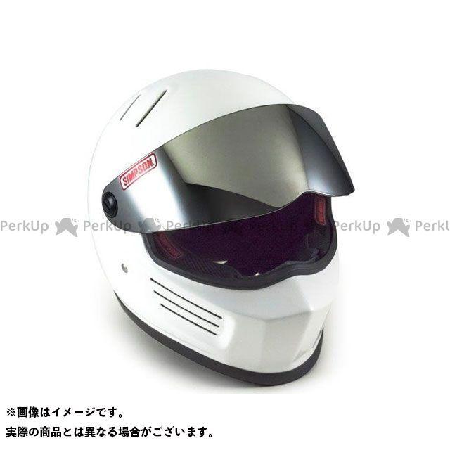 シンプソン SIMPSON フルフェイスヘルメット BANDIT(バンディット) ホワイト 62cm