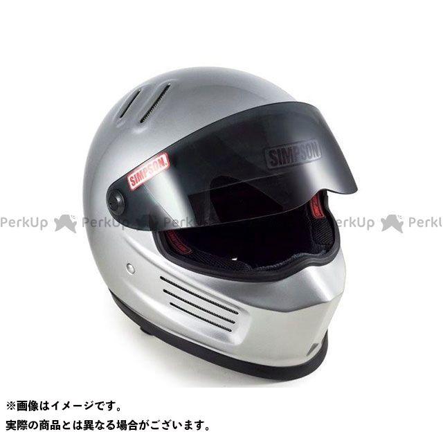 SIMPSON フルフェイスヘルメット BANDIT(バンディット) シルバー サイズ:58cm シンプソン