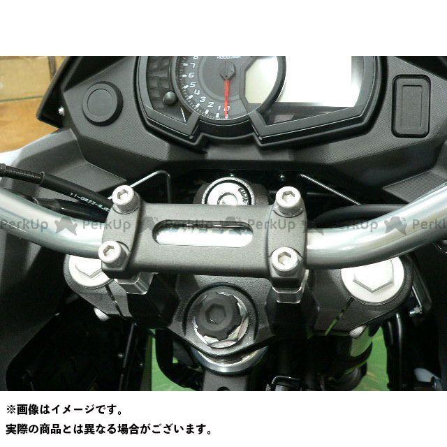ビートジャパン ヴェルシスX 250 ハンドル関連パーツ ローハンドル(グレー)