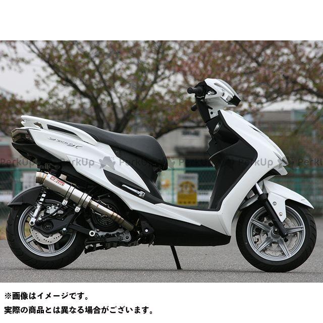【エントリーで更にP5倍】K2-tec シグナスX SR マフラー本体 シグナスX SR(IV) Volta STD 出口形状:3ピースタイプ ケイツーテック