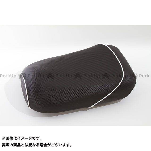 Rinパーツ ズーマー シート関連パーツ ズーマー用 カーボン柄 シートカバー ホワイト リンパーツ