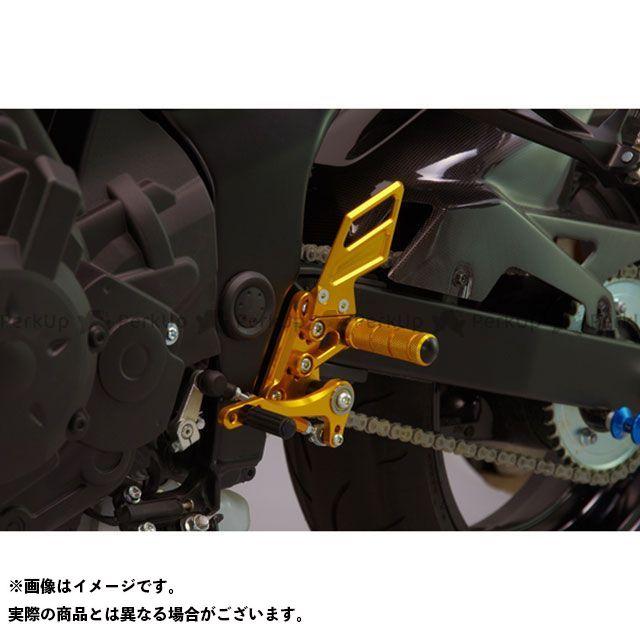 【無料雑誌付き】SANSEI RACING GSR750 バックステップ関連パーツ ZNIC マルチステップ(ケミカルゴールド) サンセイ