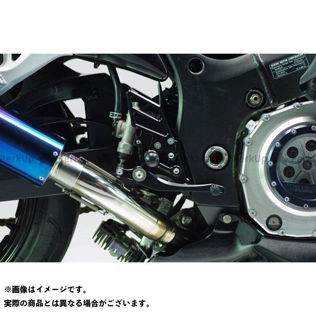 【無料雑誌付き】SANSEI RACING 隼 ハヤブサ バックステップ関連パーツ ZNIC マルチステップ(ケミカルブラック) サンセイ