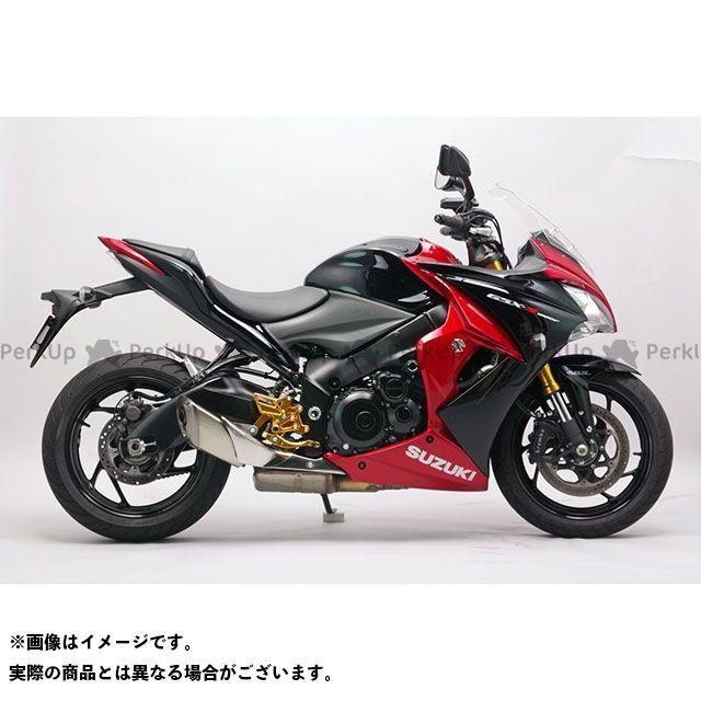 【無料雑誌付き】SANSEI RACING GSX-S1000 GSX-S1000F バックステップ関連パーツ ZNIC マルチステップ(ケミカルゴールド) サンセイ