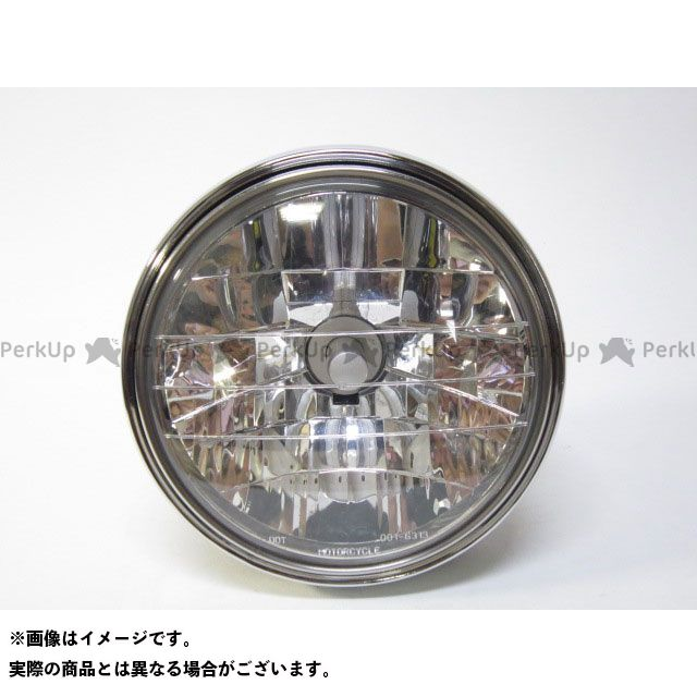送料無料 GOP ジーオーピー ヘッドライト・バルブ φ180 ファンレスLED搭載 マルチリフレクターヘッドライトAssy