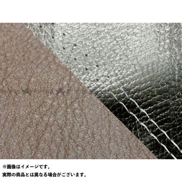 Grondement CBR1000RRファイヤーブレード シート関連パーツ CBR1000RR(SC57) 国産シートカバー 張替 黒&ダークブラウン 仕様:透明ダブルステッチ 適合:シングル(フロント側) グロンドマン