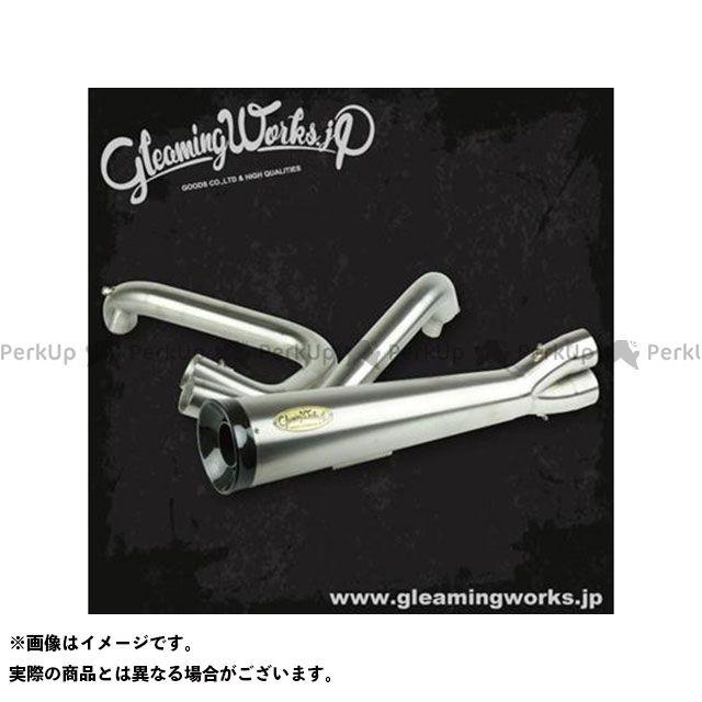 GLEAMING WORKS マフラー本体 チタニウム バリトンマフラー2in1 for XL 年式:2007-2013 グリーミングワークス