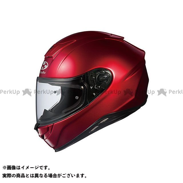送料無料 OGK KABUTO オージーケーカブト フルフェイスヘルメット AEROBLADE-5(エアロブレード・ファイブ) シャイニーレッド S/55-56cm