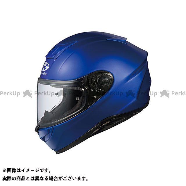 送料無料 OGK KABUTO オージーケーカブト フルフェイスヘルメット AEROBLADE-5(エアロブレード・ファイブ) フラットブルー L/59-60cm